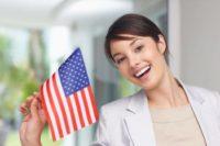 виза жены в США