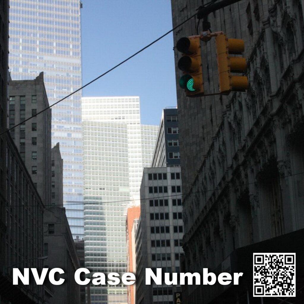 NVC Case Number