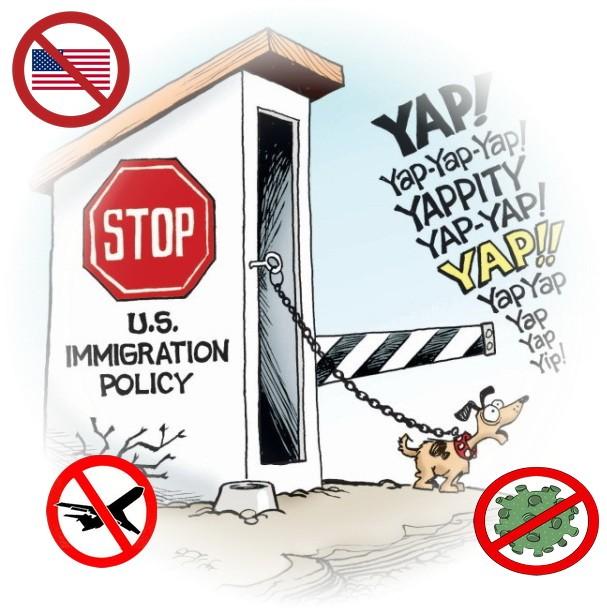запрет авиаперелетов в США