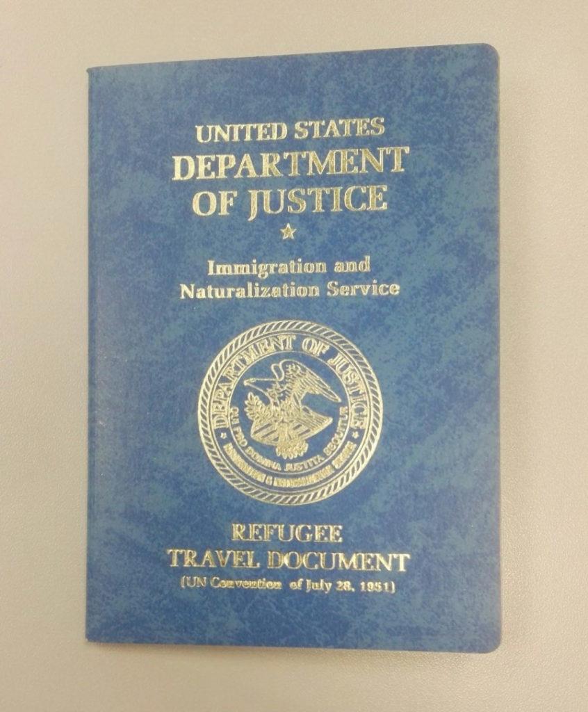 беженец в США