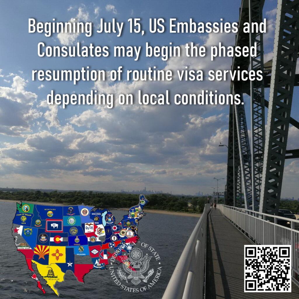 открытие посольств США